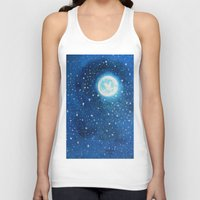 starry night Tank Tops featuring Starry Night by maggs326