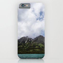Beautiful Day Landscape Photography Alberta iPhone Case