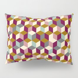 Cubic Pattern Pillow Sham