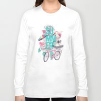 summer Long Sleeve T-shirts featuring Summer by Ariana Perez
