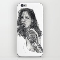 tattoos iPhone & iPod Skins featuring Lust & Tattoos by Art & Ink