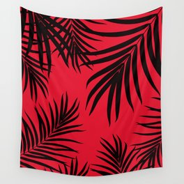 Palm Leaves Pattern Summer Vibes #12 #tropical #decor #art #society6 Wall Tapestry