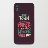paper towns iPhone & iPod Cases featuring Paper Towns: Town and Memories by Risa Rodil