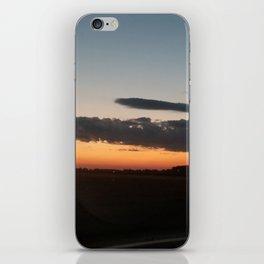 Sunset in corn iPhone Skin