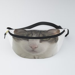 Attentive Cat Fanny Pack