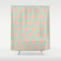 the xx Shower Curtains featuring Pattern XX by Mr & Mrs Quirynen
