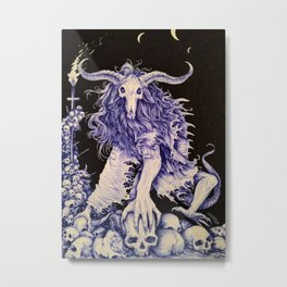 The Bone Collector Metal Print