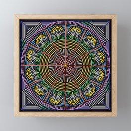 Sunrise In The Labyrinth Of Morning Framed Mini Art Print