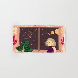 Virgo constellation Hand & Bath Towel