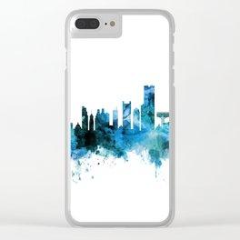 Boston Massachusetts Skyline Clear iPhone Case