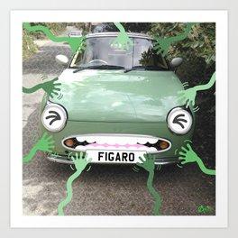 FIGARO Art Print