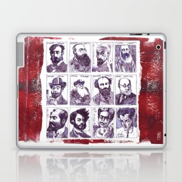 Portraits of artists Laptop & iPad Skin