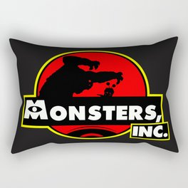 Monsters, Inc Logo.  Rectangular Pillow