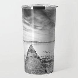 Passage of Time Over Belfast Lough Travel Mug