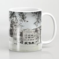 jfk Mugs featuring SPRING IN DEALEY PLAZA by Johnny Cashley