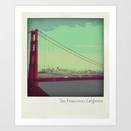 Golden Gate Bridge from Marin Art Print