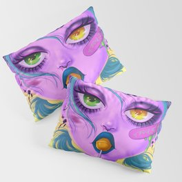 Heavy eyes Pillow Sham