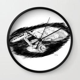 USS Enterprise Wall Clock