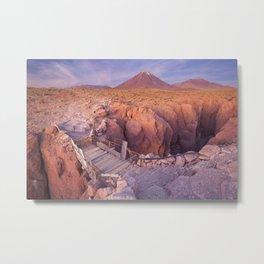 Atacama Desert in Chile Metal Print