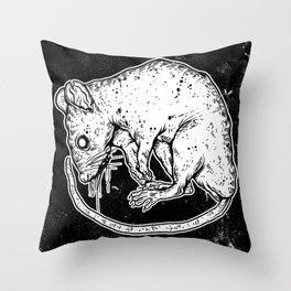 VERMIN  Throw Pillow