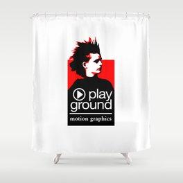 Image Playground 01 Shower Curtain