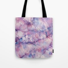 Texture Marble effect Tote Bag