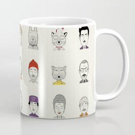 Random People Coffee Mug