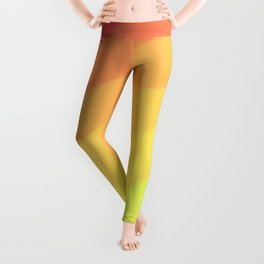 Happy Colorful Rainbow Stripes Leggings