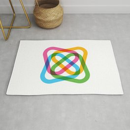 Colorful Swirl Rug
