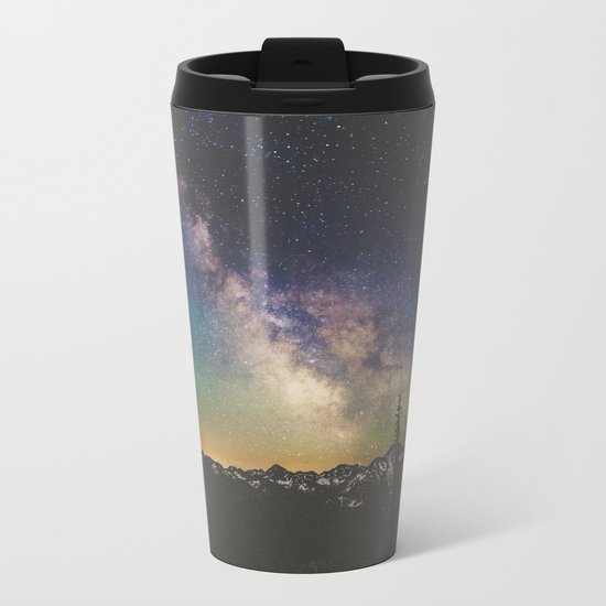 North Cascades XXIII Metal Travel Mug