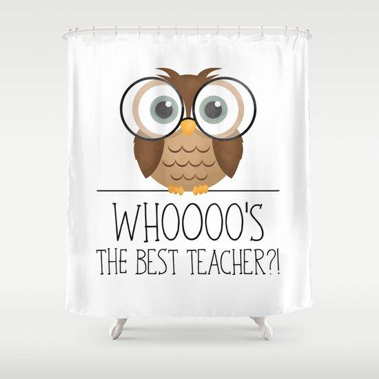 Whoooo's The Best Teacher?! by avenger