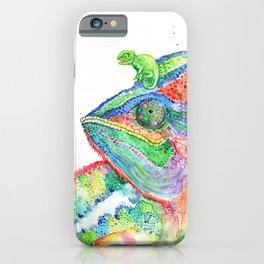 Clutcha'Chameleons iPhone Case