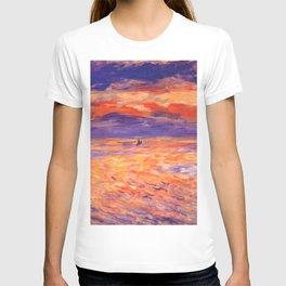 "Auguste Renoir ""Sunset at sea"" T-shirt"