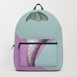 Narwhal Geometric Bright and Colorful Backpack