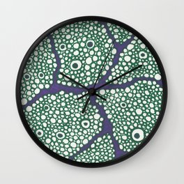 Microscopic View No. 3 Wall Clock