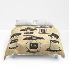 Drinking History Comforters