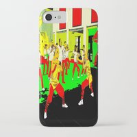 workout iPhone & iPod Cases featuring Workout by lookiz