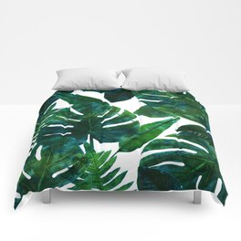 Perceptive Dream || #society6 #tropical #buyart Comforters