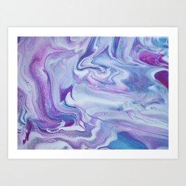Lavender Haze Art Print