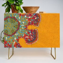 Growing - Casuarina - plant cell embroidery Credenza