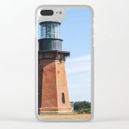Block Island Southeast Light House Clear iPhone Case