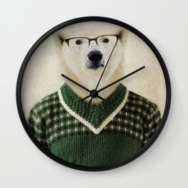 Spencer Bear Wall Clock