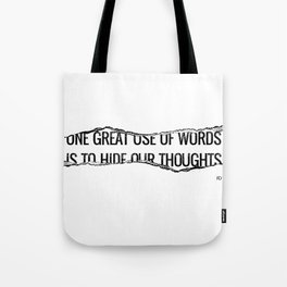 Use of Words Tote Bag