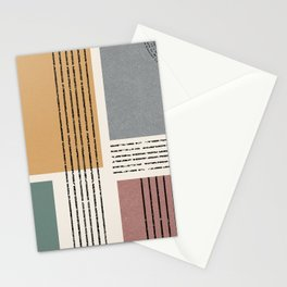 Modern Geo Design  Stationery Cards