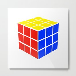 Rubix Metal Print