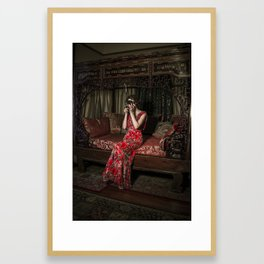 Portrait Of Artist Framed Art Print