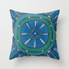 Connected in Truth Throw Pillow