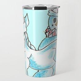 Frosty Photo Bomb Travel Mug