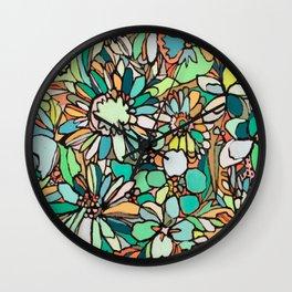 coralnturq Wall Clock