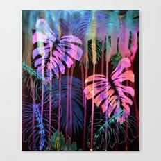 Drippy Jungle {acid} Canvas Print